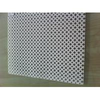 Buy cheap Punched Round Perforated Metal Sheet / custom made Medicine filter screen from wholesalers
