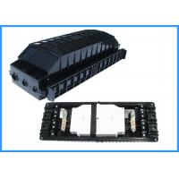 Buy cheap 48 Cores PP Drop Cable Fiber Optic Splice EnclosureInline Type Wall Mounted from wholesalers