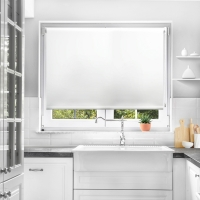 Buy cheap 100% Polyester Google home smart curtain motorized blackout roller blinds from wholesalers