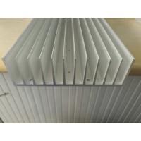 High Precision Matt Anodized Aluminium Heat Sink Profiles with Lathe Maching ISO9001:2008