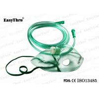Buy cheap Full Face Pediatric Oxygen Mask Disposable , Medical Oxygen Mask With Nebulizer And Tube from wholesalers