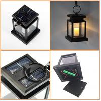 Buy cheap Vintage Umbrella Lantern Candle Light With Clamp Beach Umbrella Tree Pavilion Garden Yard from wholesalers