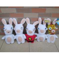 Buy cheap Lovely Rayman Raving Rabbids Cartoon Plush Toys White Cute Custom from wholesalers