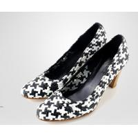 China Beautiful Elegant Sexy Women Glitter Cone High Heel Shoes suede leather woven shoes on sale