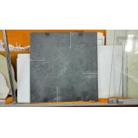 Black Color Refractory Kiln Shelves , Fireproof Silicon Carbide Plate SGS