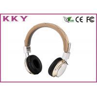 5V On Ear Wireless Headphones , Bluetooth Over Ear Headphones With Mic