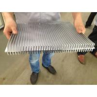 China 6061 T66 400MM Width Aluminum Extrusion Heat Sink CE SONCAP ISO RoHS TUV on sale