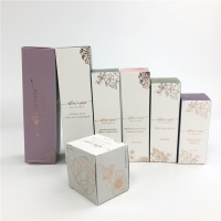 Buy cheap White Cardboard Cosmetic Hot Stamping Paper Box Face Cream Packaging from wholesalers