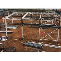 Buy cheap Prefab Steel Structure Factory / Metal Warehouse Buildings Earthquake Resistance from wholesalers