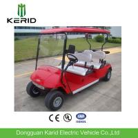 Buy cheap Mini 4 Wheel Drive 4 Person Club Car Electric Golf Cart With 48V Trojan Battery from wholesalers