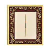 Buy cheap Forged Brass One Gang One Way Wall Switch With Classic Patterns And LED Indicator from wholesalers