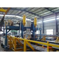 Buy cheap Automatic T / H Beam Production Line , Submerged Arc Welding Machine High efficiency from wholesalers