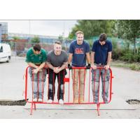 Buy cheap Professional event stainless steel metal crowd control barrier for high security product
