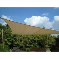 Buy cheap Beige Color Sun Sail Carport Agriculture Shade Net With UV Resistance from wholesalers