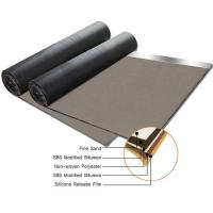 Buy cheap Non woven compound glassfiber mat SBS modified bitumen waterproof membrane product