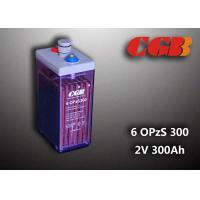 Buy cheap 12V 6 OPzS300 Wind Solar Power Telecom Application Tube ABS Battery from wholesalers