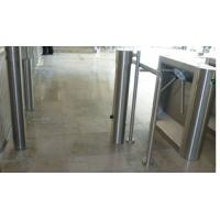 Buy cheap Cylinder swing flap barrier for airport Visa access control from wholesalers