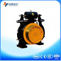 Buy cheap WTD1 model 1250kg Drum Brake Sheave Diameter of 400mm roping 2:1 Elevator motor from wholesalers