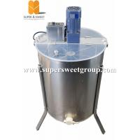 Buy cheap 120V USA hot sale 4  frames electrical honey bee extractor tangential extractor from wholesalers