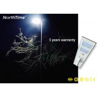Buy cheap IP65 Outdoor Luminaire LED Solar Street Lamp with 90Ah Lithium Battery from wholesalers