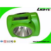 Buy cheap Personal Safety 10000lux OLED Screen Led Miners Cap Lamp from wholesalers