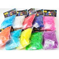 Buy cheap Family Silicone DIY Colourfull Rainbow Loom Bands Rainbow Colorful Loom Rubber Bands from wholesalers