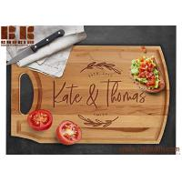 Buy cheap Custom Engraved Natural Wood Cutting Board Christmas Gift Wedding Gift Anniversary Gift from wholesalers