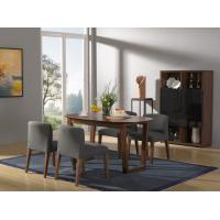 Buy cheap 2016 New Nordic Design Dining Room Furniture sets by Walnut wood table with from wholesalers