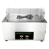 Buy cheap 30L Fuel Injector Digital Ultrasonic Cleaner With Heater 20C - 80C Adjust from wholesalers