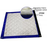 Buy cheap Temporary Sound Barrier  4 layer design mass loaded vinyl sound barrier from wholesalers