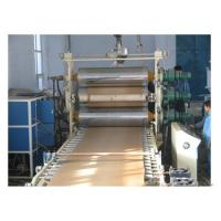Buy cheap PP/PE/PVC wood composite WPC foam plate extrusion line from wholesalers