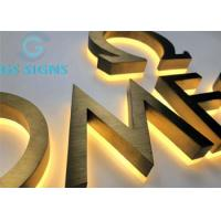 Buy cheap Illumination Channel Signs Custom Led Letters 3D Logo Signage Acrylic Backlit IP67 from wholesalers