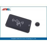 Buy cheap Small Type RFID Contactless Reader , High Frequency USB ID Card Reader from wholesalers