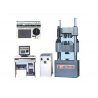 Buy cheap 2000kn PC Tensile Compression Tester , Bending Strength Testing MachineManual Control from wholesalers