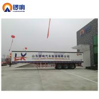 Buy cheap Semi-Trailer Generally Certification 3 Axles Curtain Side Trailer sale from wholesalers