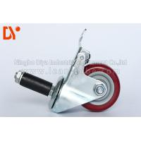 Buy cheap Pipe Tote Cart Polyurethane Caster Wheels , Anti Static Casters For Logistcs from wholesalers