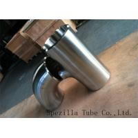 Buy cheap 316L Stainless Steel Sanitary Fittings / Polished Stainless Steel Weld Elbows 1X1.65mm from wholesalers