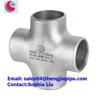 Buy cheap STAINLESS STEEL WP304 PIPE CROSS/ PIPE FITTINGS MANUFACTURER product