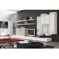 Buy cheap Movable Furniture Low Profile Media Cabinet TV Unit Modern Interior Design from wholesalers
