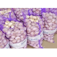Buy cheap PE Polyethylene Plastic Woven Mesh Fruit And Vegetable Bags from wholesalers