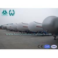 Buy cheap Heavy Duty Tank LPG Semi Trailer For Gas Delivery Reliable Structure from wholesalers