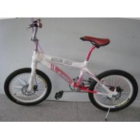 China Hh-bmx01 Very Light White And Red Freestyle Bmx Bike With Red Saddle on sale