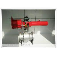 Buy cheap High performance Spring Return Scotch yoke pneumatic actuator for ball valves from wholesalers