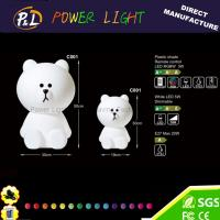 Buy cheap Modern Kids Holiday LED Decoration Bear Christmas Light product