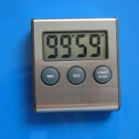Buy cheap Aluminum Front and Plastic Magnet Electric Digital Timer / Digital Kitchen Timers from wholesalers