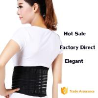 Buy cheap Elastic Back Brace / Waist Back Support Belt Sport Breathable Fish Line from wholesalers