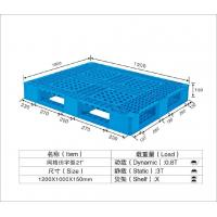 Buy cheap HDPE / PP Standard Recycled Plastic Pallets Temporary Mobile Platforms 1250*1000*150mm from wholesalers