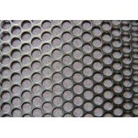 Buy cheap Standard  mirror finish perforated stainless steel sheet strainers  for USA, EU, Africa market from wholesalers