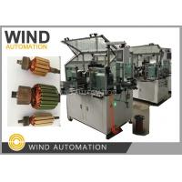 Buy cheap Conventional Commutator Armature Coil Winding Machine Dual Flyer For Slot Com Rotor from wholesalers