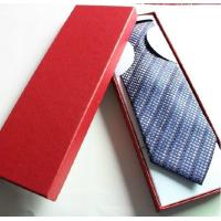 Buy cheap Custom made tie box,paper tie box,paper tie packaging box from wholesalers